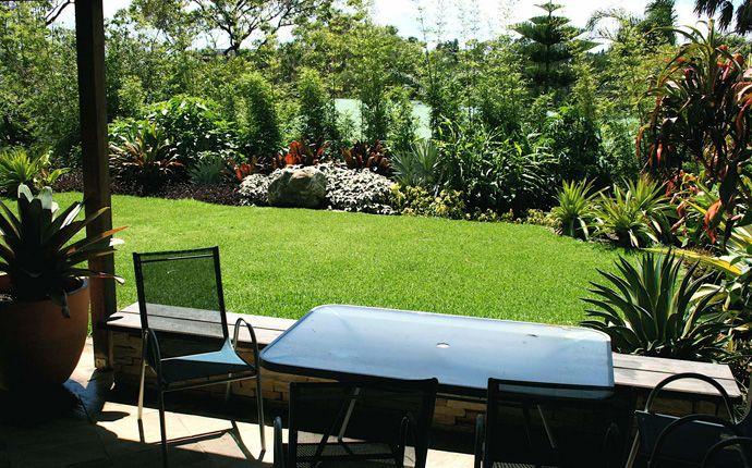 Peter Nixon Tropical Garden in Mona Vale,  SYDNEY