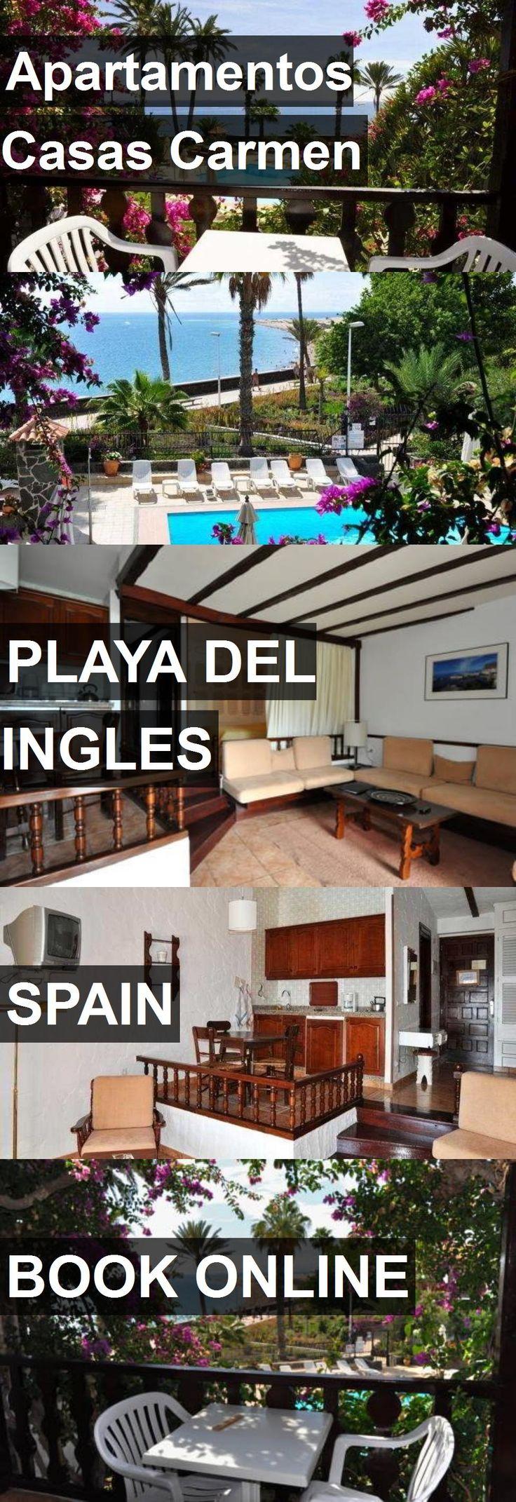Hotel Apartamentos Casas Carmen in Playa del Ingles, Spain. For more information, photos, reviews and best prices please follow the link. #Spain #PlayadelIngles #ApartamentosCasasCarmen #hotel #travel #vacation
