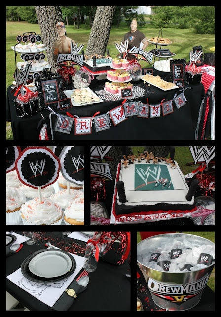 Looks like Darrin will be having a WWE Birthday party this year