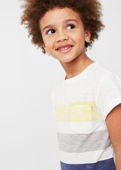 Flamé katoenen T-shirt met print