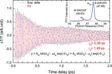 Osservazione dei coerenti vibrazioni reticolari in grafene epitassiale