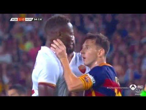 Lionel Messi vs Roma 720p HD • Barcelona vs AS Roma 2015 - YouTube
