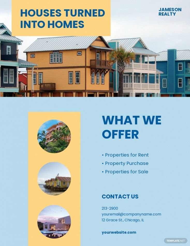 Explore Our Example Of Vacation Rental Flyer Template In 2021 Flyer Template Flyer Vacation Rental