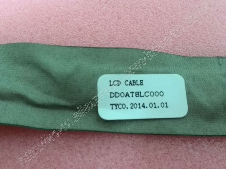 Free shipping 5pcs/lot DD0AT8LC000 flex lcd cable For HP Pavilion DV6000 DV6100 DV6300 DV6500 DV6700 video lvds wire
