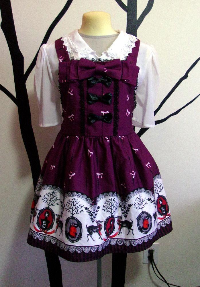 new purple salopette sample! ~**Truly Darling Lolita**~
