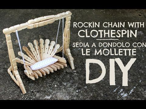 Hi Everyone!! in this tutorial i'll show you how to make this beautiful rockin chain with clothespins!! i hope you like this idea, let me know in the commend...