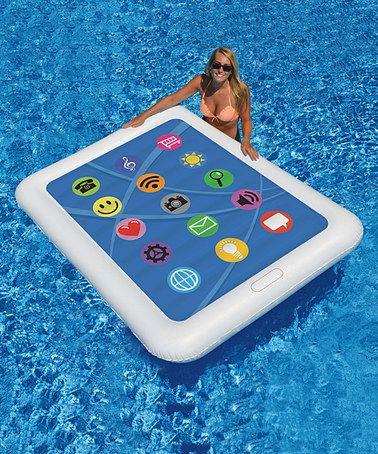 La tecnología hasta en la piscina