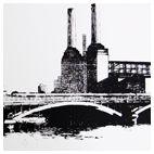 Printer Makers   Contemporary Art   Lucy Chapman - Battersea Bridge Number 2