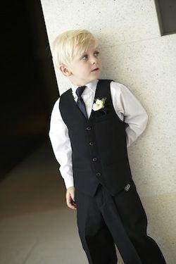 Page boys suit in black #boyssuit #blacksuit #pageboy #suitsale #sale #kidsformalwear #boysformalwear
