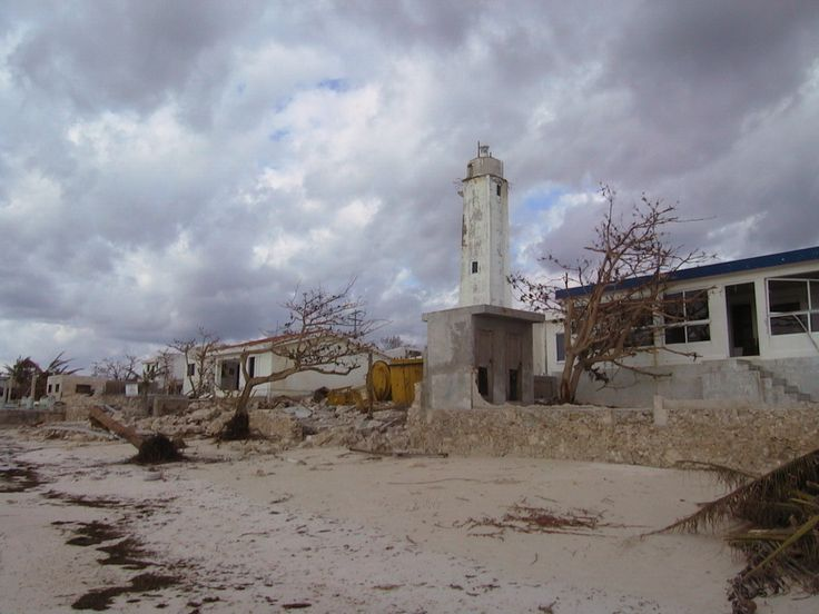 Hurricane Wilma Aug 2005 Puerto Morelos Yucatan Photos - Wilma made several landfalls, with the most destructive effects felt in the Yucatán Peninsula of Mexico,