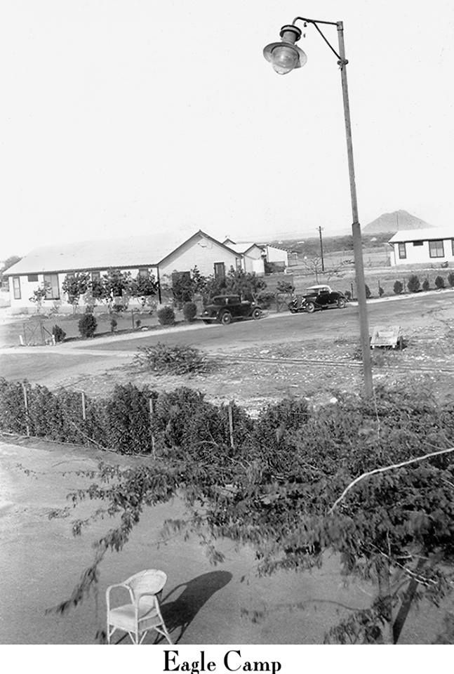The eagle refinery was on the west end of Aruba, west of Oranjestad, where now the hotels are located. This refinery was closed soon after the war.