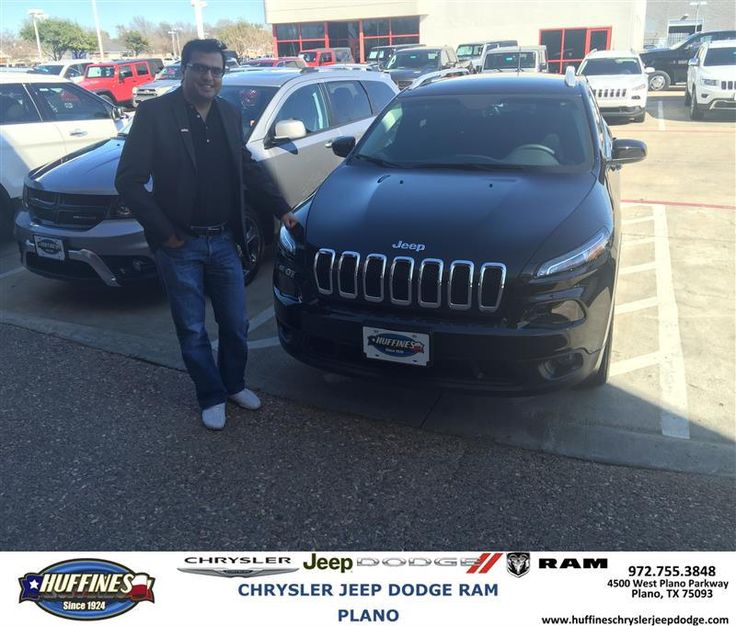 https://flic.kr/p/Srfy4h | Happy Anniversary to Zeshan on your #Jeep #Cherokee from Billy Bolding at Huffines Chrysler Jeep Dodge RAM Plano | deliverymaxx.com/DealerReviews.aspx?DealerCode=PMMM