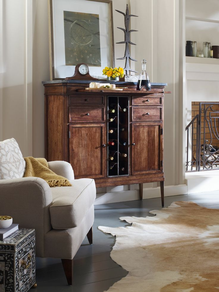 Lacroix Buffet With Wine Storage | Milling Road | Baker Furniture