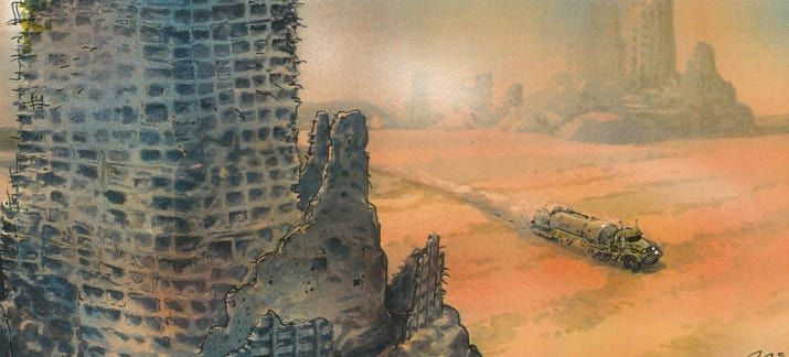"""This Early Concept Art For """"Mad Max: Fury Road"""" Is Incredible"""