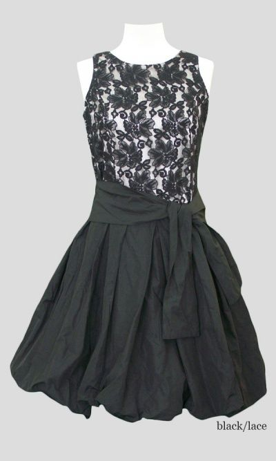 Bubble Dress in Lace