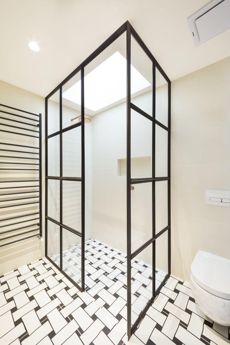 Steel Shower Screens Australia ---  Fixed double shower screens for bathroom.