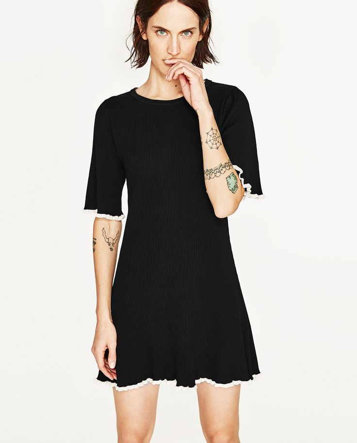 SHORT SLEEVE DRESS - Available in more colours