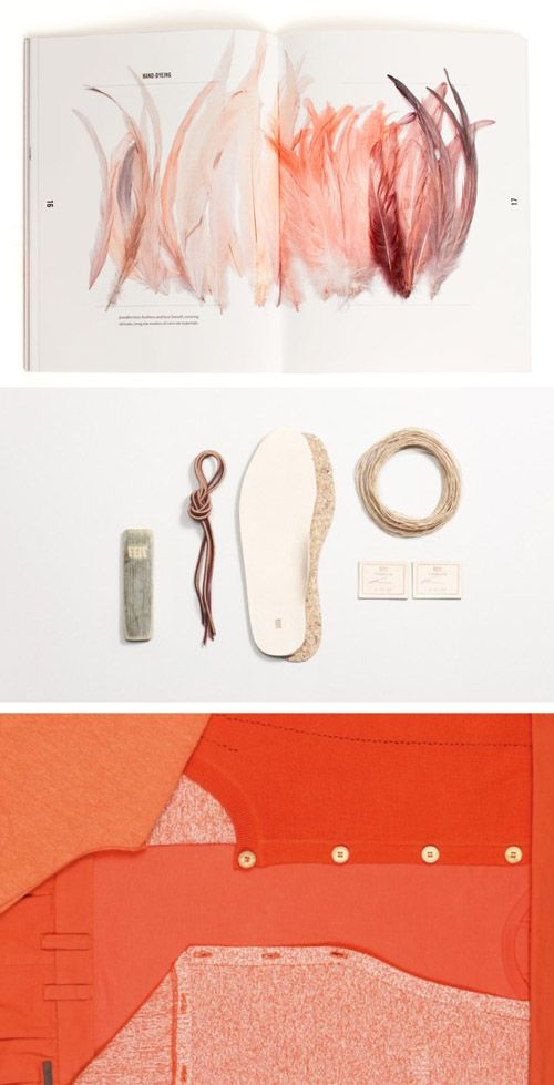 cool material layout ideas for portfolio