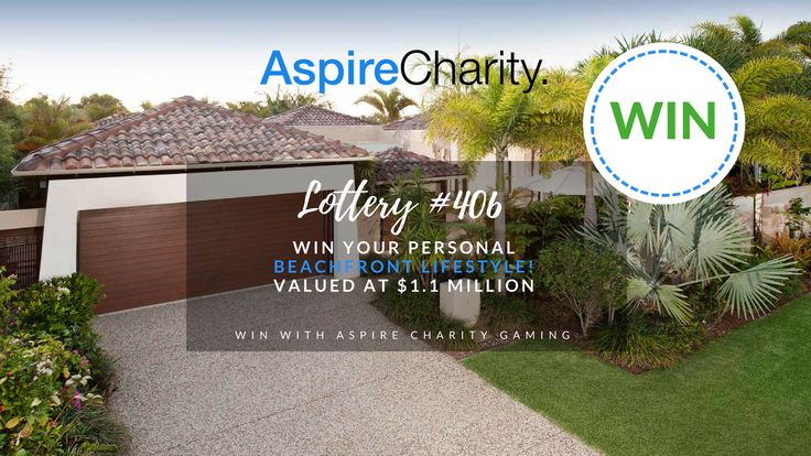 Win your personal Beachfront Lifestyle! Valued at $1.1 Million