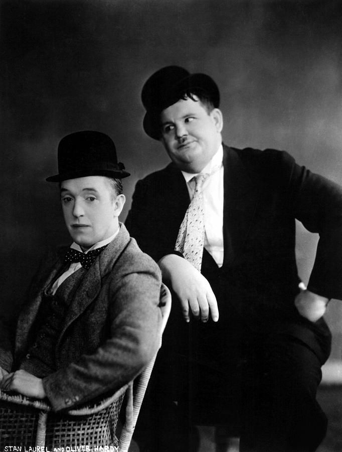 Love this pair! My favorite is Way out West. Stan Laurel, Oliver Hardy