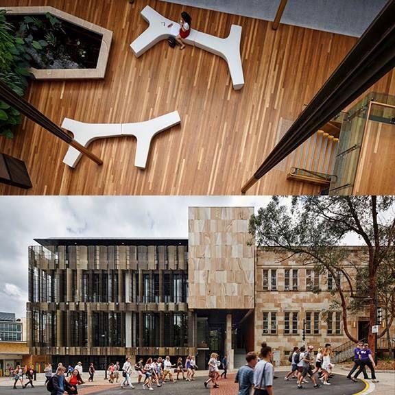 Pergola Designs Qld: University Of Queensland Global Change Institute (With