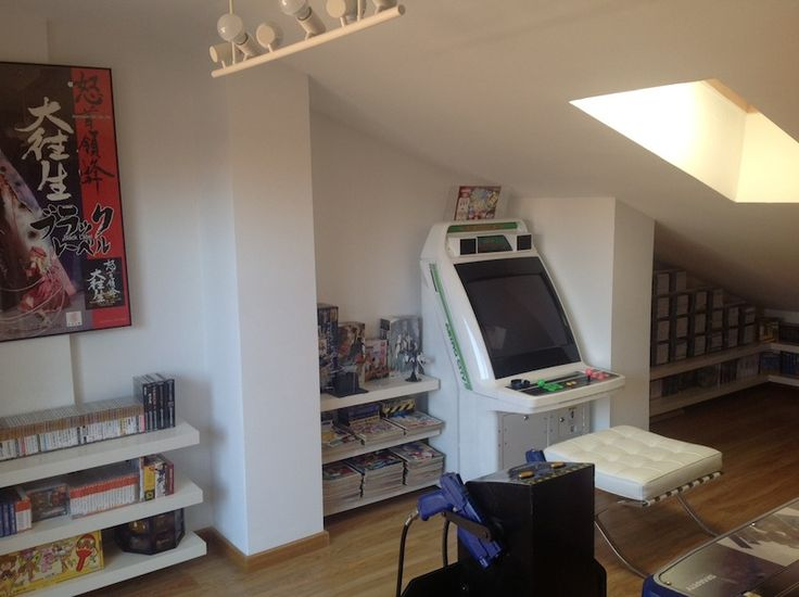 103 Best Video Game Room Images On Pinterest