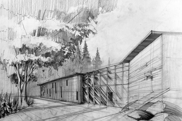 Architecture Drawings by Artur Stepniak - 3