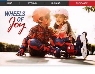 "Check out new work on my @Behance portfolio: ""E-mail - Oxelo Inline skates for kids""…"