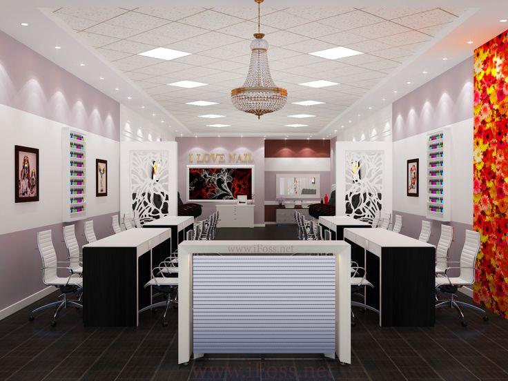 Beauty Salon Design Copyright @iFOSS Inc Contact 714 556 7895 Or Www.ifoss.