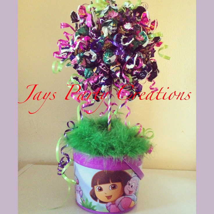 charms lollipop tree centerpiece jayspartycreations