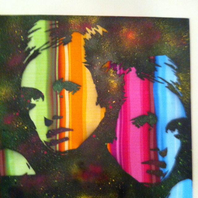 Latest Twiggy on canvas