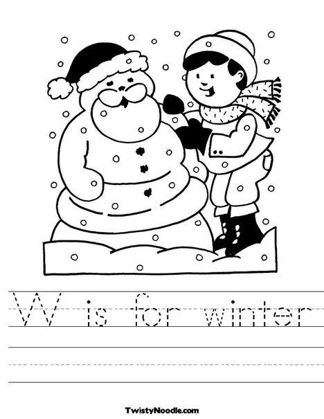 Number Names Worksheets winter worksheets for first grade : 1000+ images about Winter Worksheets on Pinterest