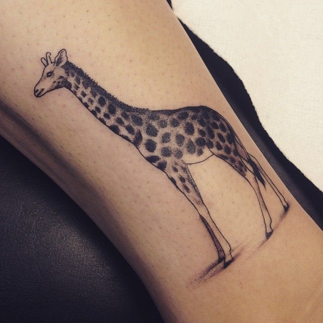 50+ Elegant Giraffe Tattoo Meaning and Designs - Wild Life on Your Skin