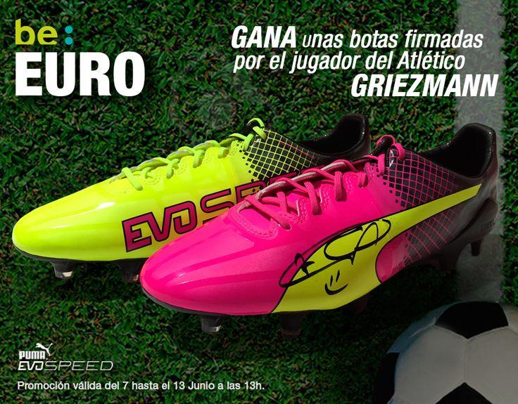 Gana unas botas de fútbol #Puma firmadas por #Griezmann