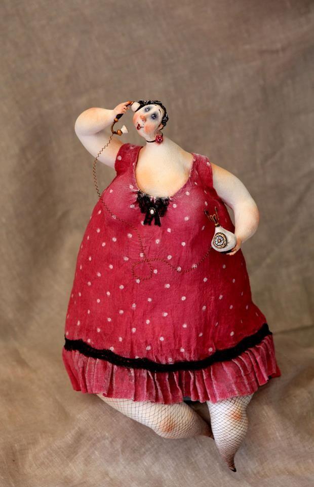 black chubby figurines