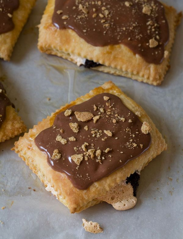 Homemade s'mores pop tarts.  Need I say more?  If anyone tries them, please tell me how it goes and perhaps consider sending me one?  Please?!?!