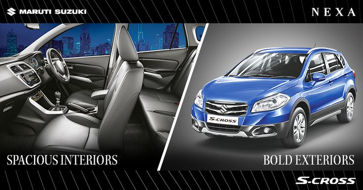 Stylish exteriors and luxurious interiors for you to enjoy an ultimate driving experience. ‪#‎SCross‬