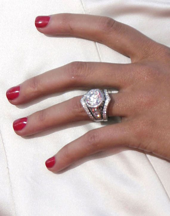 celebrity engagement ring - Huge Wedding Rings