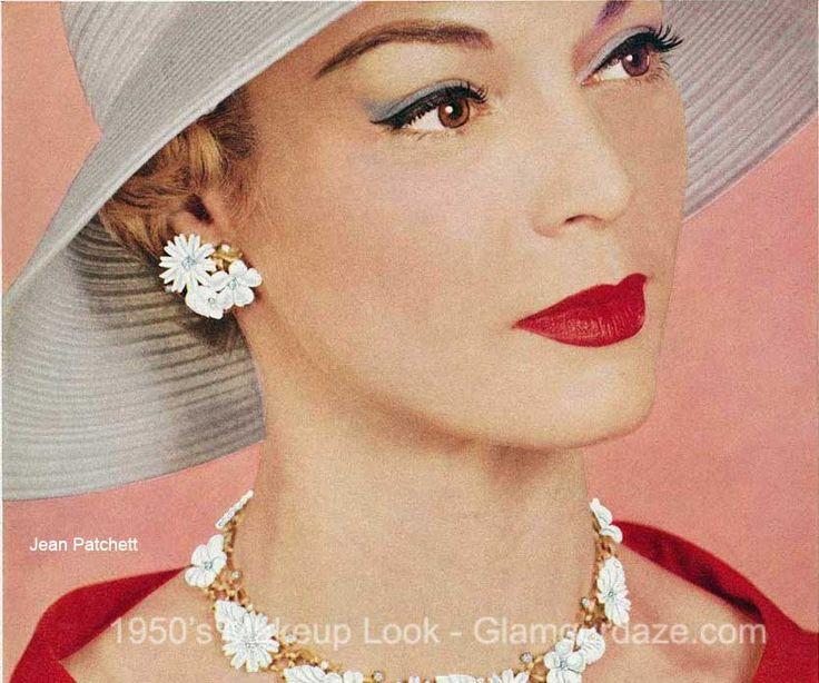 30 Best 1950's Makeup Images On Pinterest