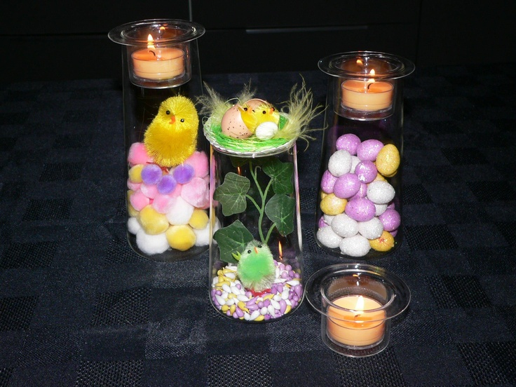 Easter decorating idea from partylite with the symmetry for Partylite dekoration
