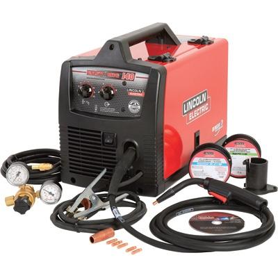 Lincoln Electric Easy MIG 140 115V Flux Cored/MIG Welder — 140 Amp Output, Model# K2697-1