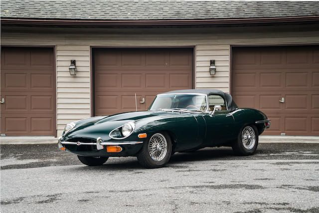 <b>1970 Jaguar E-Type Series 2 4.2 Liter Roadster</b><br />Chassis no. 1R 13285<br />Engine no. 7R 12119-9