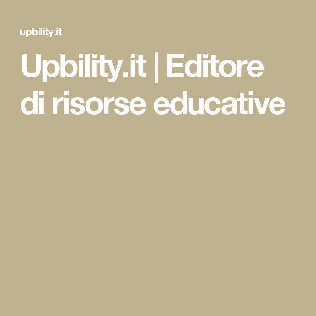 Upbility.it | Editore di risorse educative