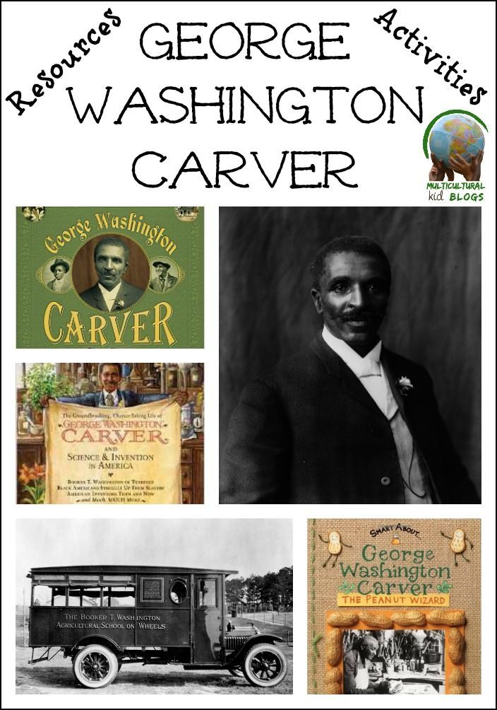 Facts, activities, and resources to learn about George Washington Carver