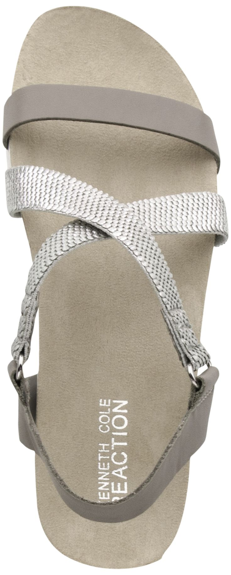 Kenneth Cole Reaction Surf Board sandal (Tan/Gold)