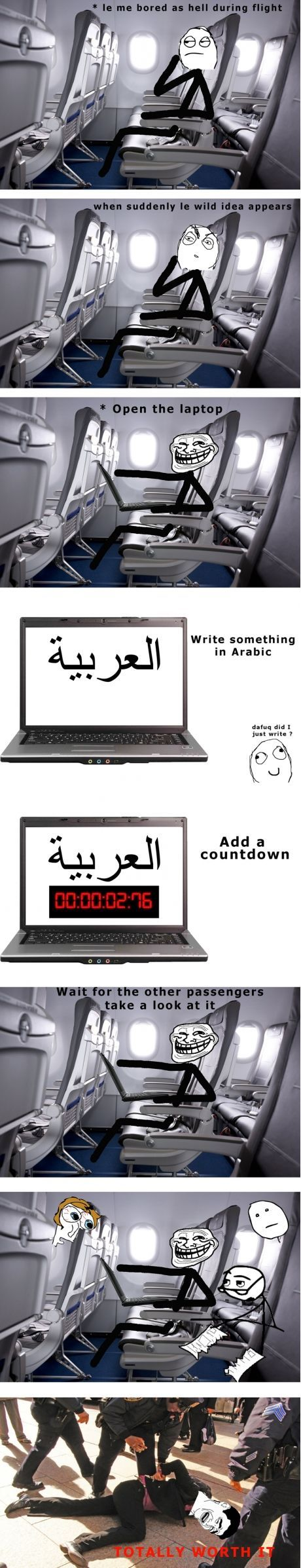 I am an arab. So i know what is written and I could write too.