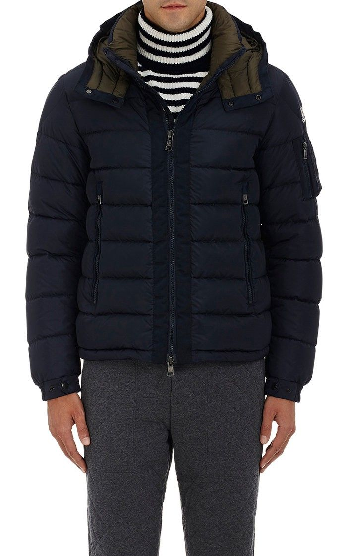 MONCLER Down-Quilted Hooded Parka. #moncler #cloth #all