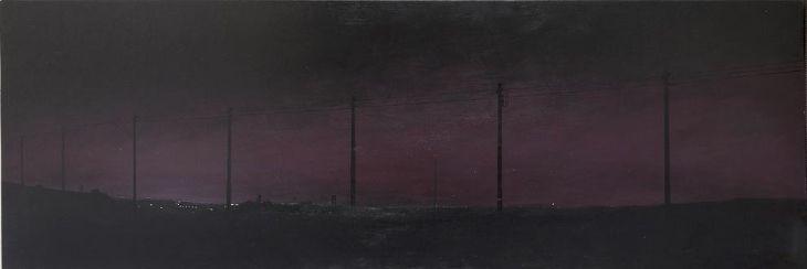 MJ Lourens | Untitled, oil on board
