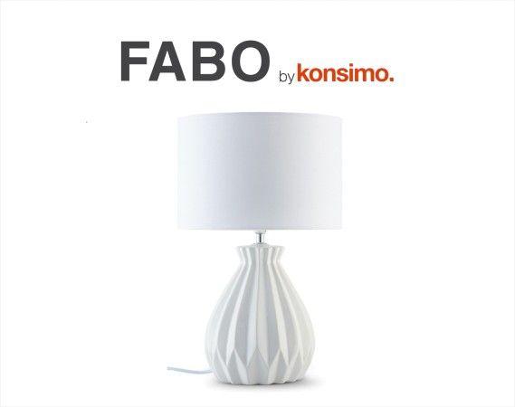 FABO lampa stołowa - KONSIMO. dyskont meblowy - salon i sklep internetowy online - tanie meble dostępne od ręki - Poznań, Leszno