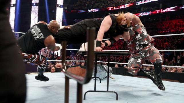 Wwe tlc for Championship table 98 99